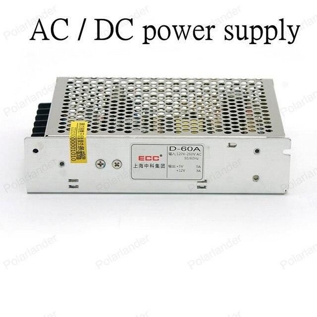 AC/DC 12 В 50 Вт двойной выход Импульсный Источник Питания для LED полосы света МИНИ размер освещение Трансформатор СВЕТОДИОДНЫЙ Драйвер для led газа