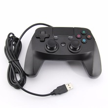 USB Wired Controller for Sony PS4 Playstation 4 Dualshock 4 Joystick Gamepads Game Accessories Black With Control function