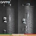 GAPPO смесители для душа смеситель для ванной комнаты Смесители для ванны набор для душа с дождевой насадкой настенная Душевая система torneira do ...