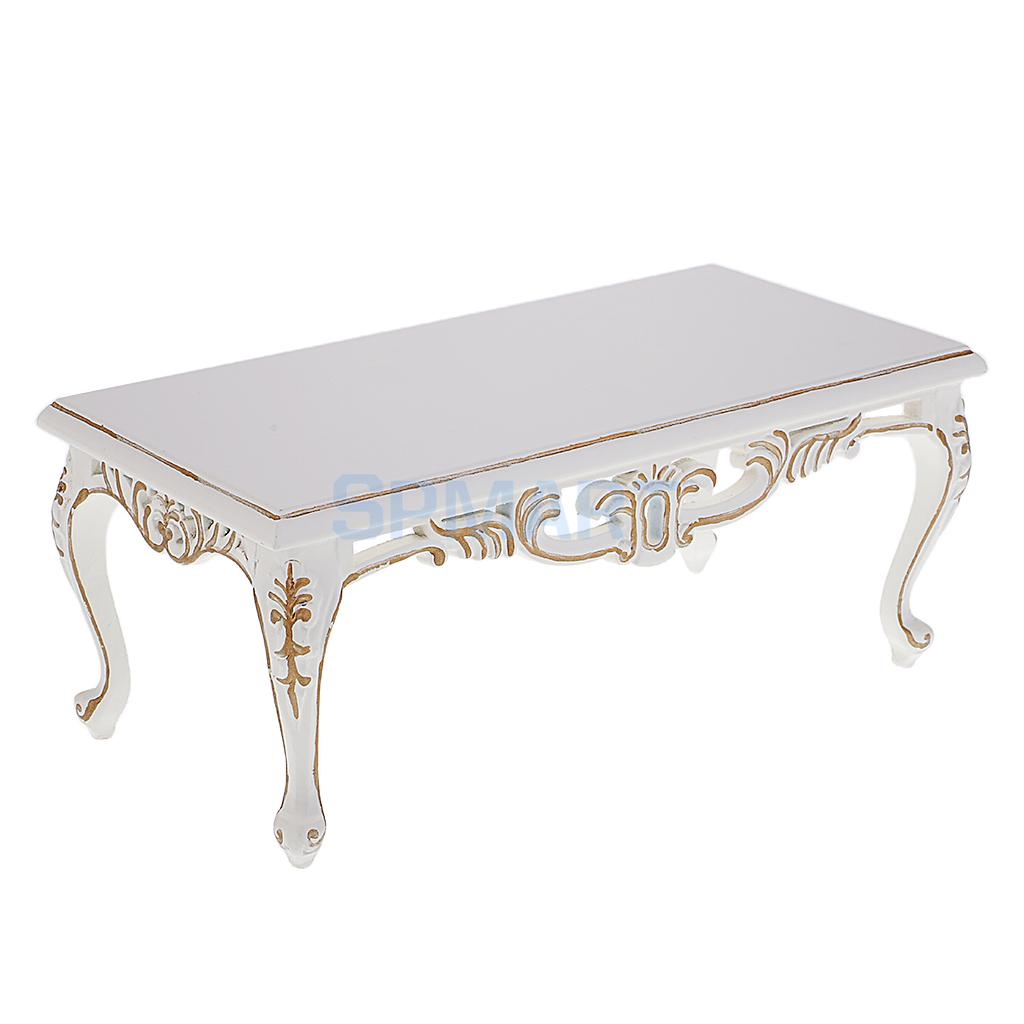 1:6 Scale White End Table Tea Table Furniture for Barbie Blythe Licca Azone Dolls 12'' Action Figure Accessories кукла blythe azone momoko6 bjd