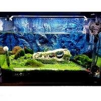 Large 3D PU Aquarium Fish Tank Background Poster Stone Rock Board Plate Backdrop Wall Decoration Reptiles Aquatic Pet Supplies I
