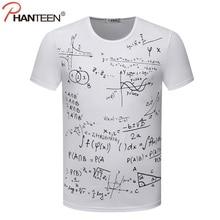 Super geek all-over equations t-shirt