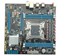 O envio gratuito de new originais motherboard para X79 2011 usb3.0 SATA3.0 suporte LGA2011 E5 2670X79 Motherboard