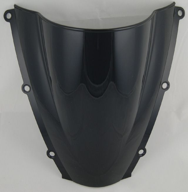 Motorcycle Double Bubble Windscreen Windshield Shield Screen For Honda CBR600RR CBR 600 RR F5 2003 2004