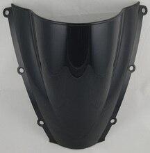 Мотоцикл Double Bubble Ветрового Стекла Лобовое Стекло Щит Экран Для Honda CBR600RR CBR 600 RR F5 2003-2004