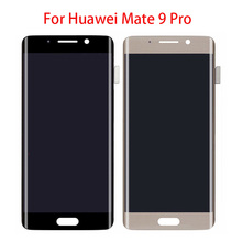 5.5 Display for Huawei Mate 9 Pro Mate9 Pro Touch Screen Digitizer Assembly Multi Touch Hyperbolic Screen LCD FHD Display for ipad pro 9 7 full screen black white high quality lcd display touch screen digitizer assembly repair for ipad pro 9 7inch