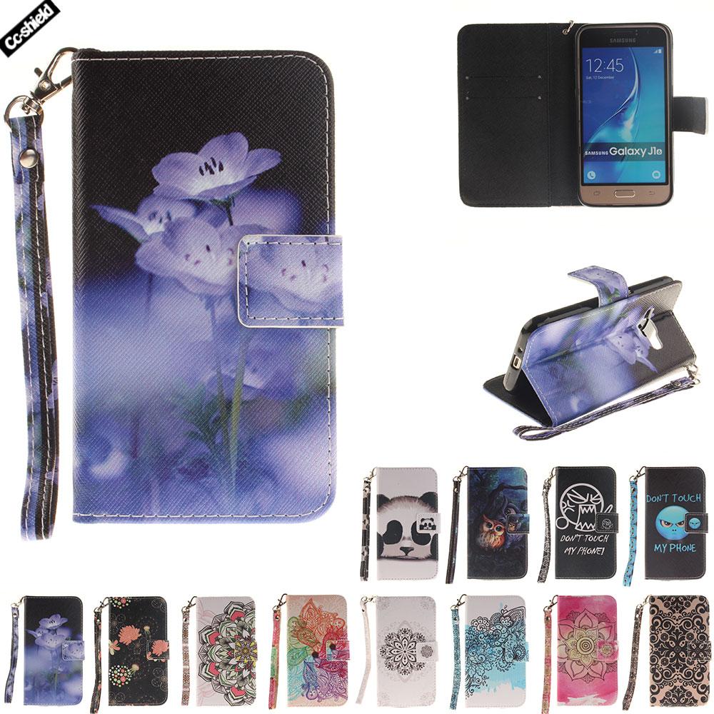 Flip Case For Samsung Galaxy J1 2016 J 1 120 J120 1J Case Phone Leather Cover SM-J120 SM-J120F SM-J120FN J120H J120F/DS J120H/DS