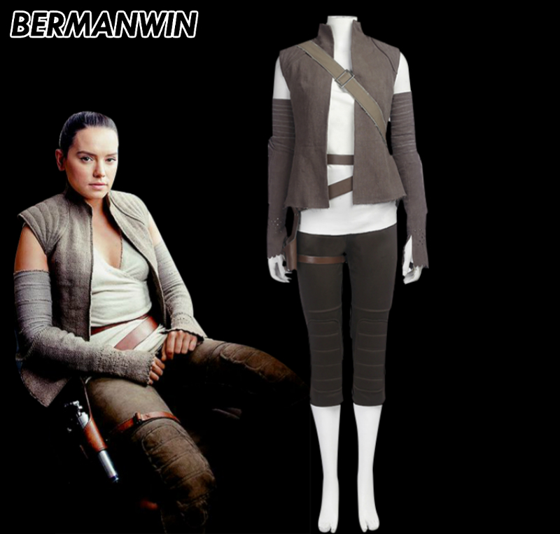 Rey Adult Costume The Last Jedi Star Wars