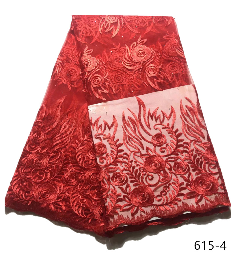 590833984c African Lace Fabric 2018 Embroidered French Laces Fabric High Quality  French Tulle Lace Fabric For Wedding Party Dress 615