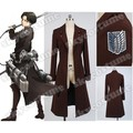 2017 Attack on Titan Eren Jaeger New long Coat Anime Cosplay Costume Original Version For Halloween Party School Daily Suit