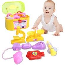 Nuevos juguetes Del Bebé Caja de la Medicina Simulación Médico Juego juegos Juguetes Médico Estetoscopio Inyecciones Niños regalos envío gratis