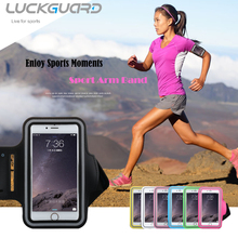 Sport Armband Case Cover  For iPhone 6 s Plus Samsung Galaxy S6 S7 Edge J7 P8lite 5.5″ Universal Waterproof Running Arm Ban