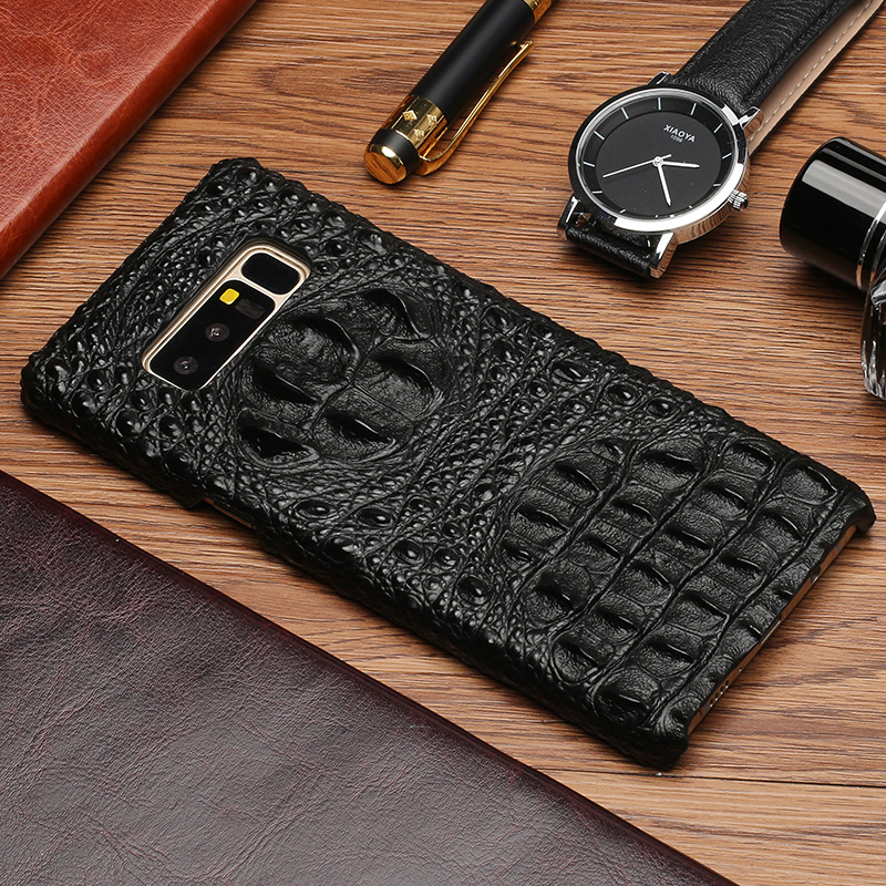 Phone Case For Samsung Note 8 S6 S7 edge S8 S9 Plus case Crocodile Head Texture Back Cover For Samsung A5 A7 A8 J5 J7 2017 case