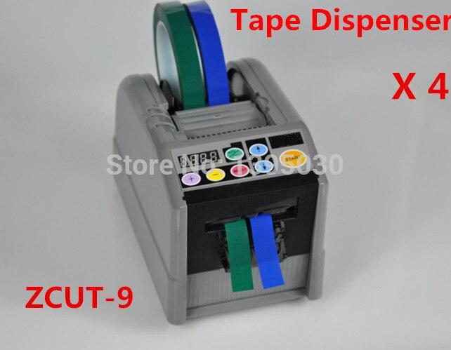 4pcs/lot Automatic Cutter Cutting Machine Tape Dispenser Micro-computer Electronic 110V ZCUT-9 1pc automatic cutter cutting machine tape dispenser micro computer electronic 110v zcut 9