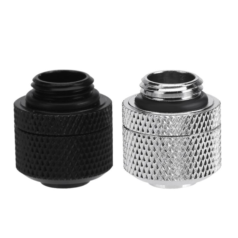 Water Cooling Fittings G1/4 External Thread for 9.5X12.7mm Soft Tube PC Computer Water Cooling System Connector water cooling flow meter acrylic 2 and 3 ways g1 4 speedometer thread with no joints cooling kit fittings