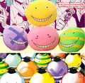 Candice guo plush toy cartoon Assassination Classroom smile Korosensei teacher funny Animation pillow cushion birthday gift 1pc