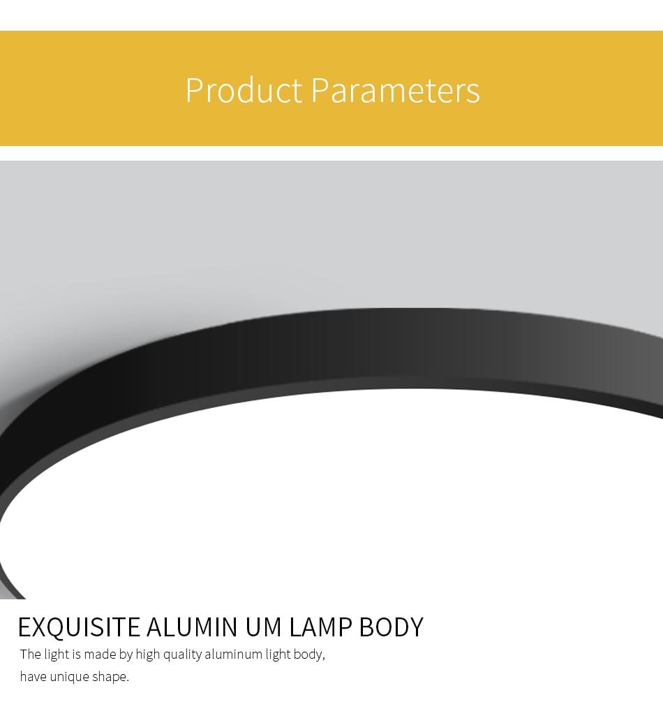 iluminação luminária cozinha quarto montagem em superfície