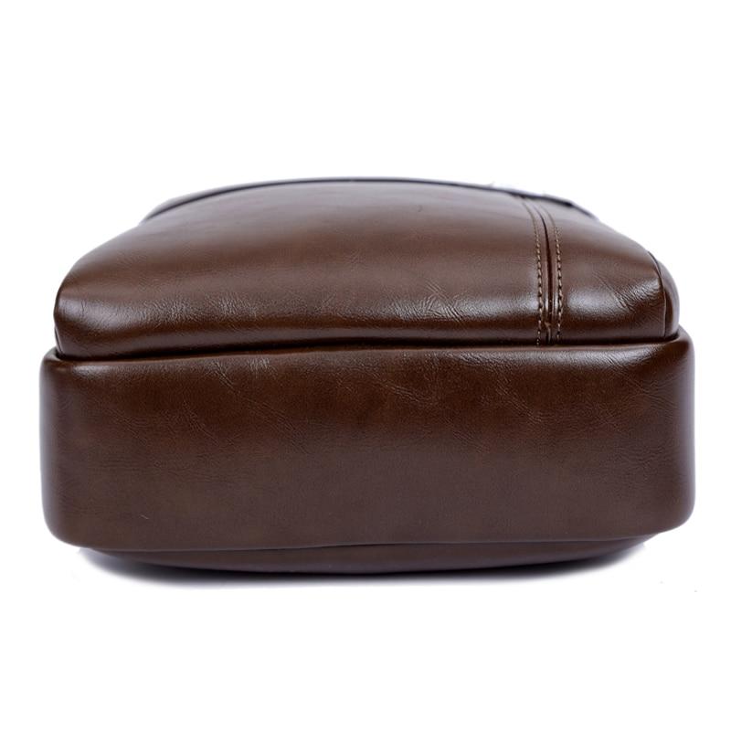 homens de moda, homens homensageiro Leather Ingredients : Shoulder Bags