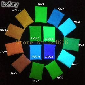 Image 2 - Polvere di fosforo, pigmento notturno brillante, verde, blu, brillante, 20 colori, 20 colori