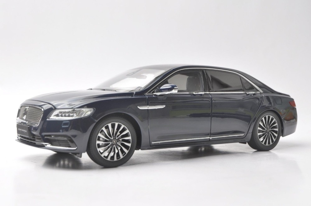 1:18 Diecast Model For Lincoln Continental 2018 (4 Colors) Original Factory Alloy Toy Car Miniature Collection