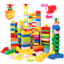 DIY Big Size Building Block Parts Classic Accessories Particle Assembly Blocks Brick Construction Toys For Children Gift