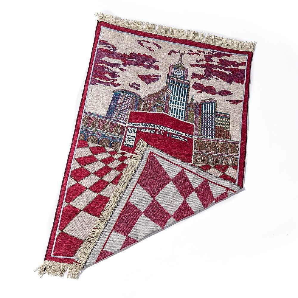 Dropshipping New Style Macio Cobertor Oração Salat MashaAllah Musallah 70x110 cm Viajar Islâmica Oração Muçulmana Mat/Tapete /tapete