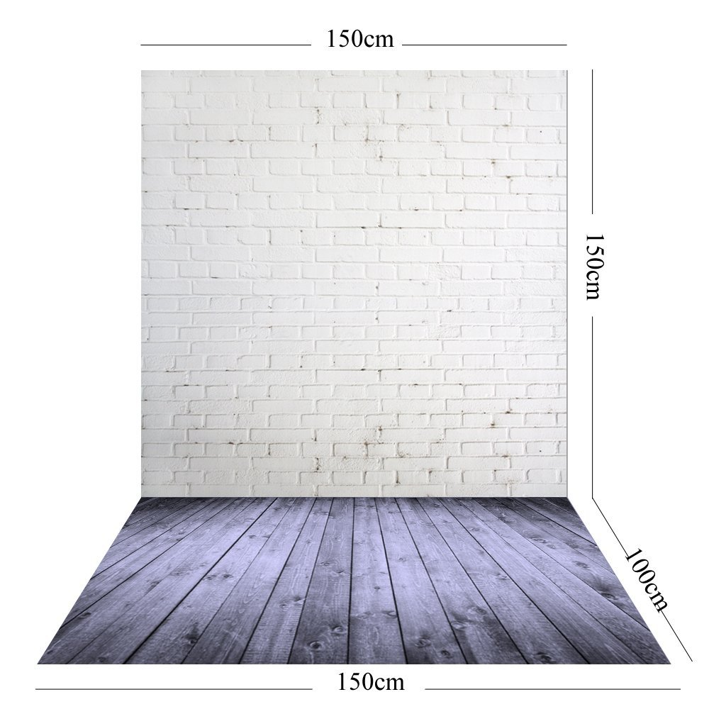 Image 4 - 150X210CM Photography studio Green Screen Chroma key Background Polyester Backdrop for Photo Studio Dark Brick YU034-in Background from Consumer Electronics