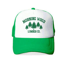 PickUp Drop Shipping Morning Wood Lumber Company Trucker Hat Men Women Lumberjack Outdoors Cap Adult Breathable Snapback Hat Cap YY405 opportunity