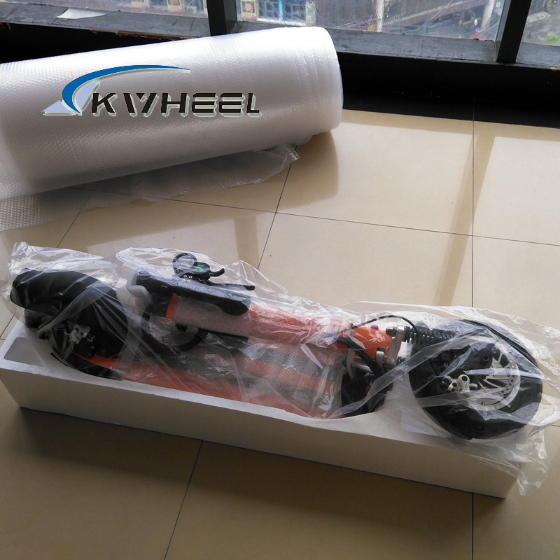 2016 500 Вт мощный красочные два колеса мини складной электрический скутер 48 В 13a литий e-велосипед с спереди передний амортизатор