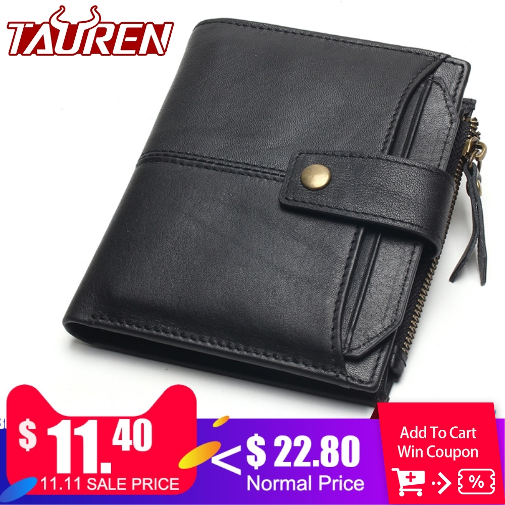 100% Genuine Leather Men Wallets Short Coin Purse Small Vintage Wallet Cowhide Leather Card Holder Pocket Purse Men Wallets falan mule genuine leather men wallets short coin purse small vintage men s wallet cowhide leather card holder pocket purse