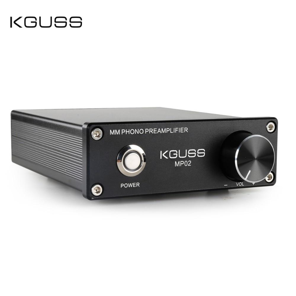 Kguss mp02 fono pré amplificador vinil record