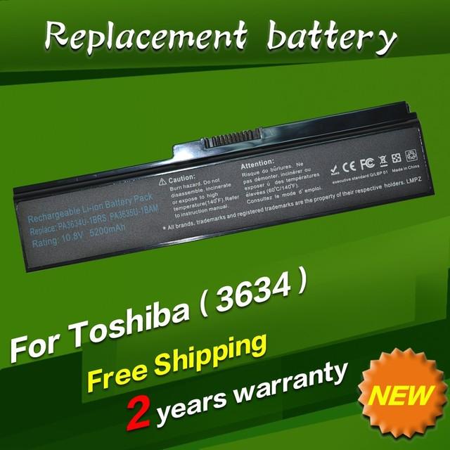 Jigu bateria do portátil para toshiba satellite pro c650 c660d l630 l670 u400 u400 u405 u405d u500 c650d c660 l640 a660d