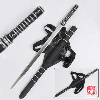 For Daywalker Sword Blade : Trinity Movie w/ Leather Back Sheath Stainless steel Blade Zinc Handle Collectible Supply - DISCOUNT ITEM  5% OFF All Category
