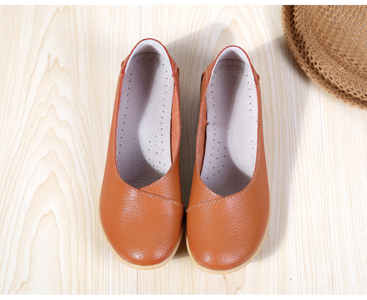AH 5928-2019 Spring Autumn Woman Flats Casual Women Loafers-24