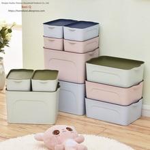 Free shipping plastic finishing box, clothes, drawer, desktop storage