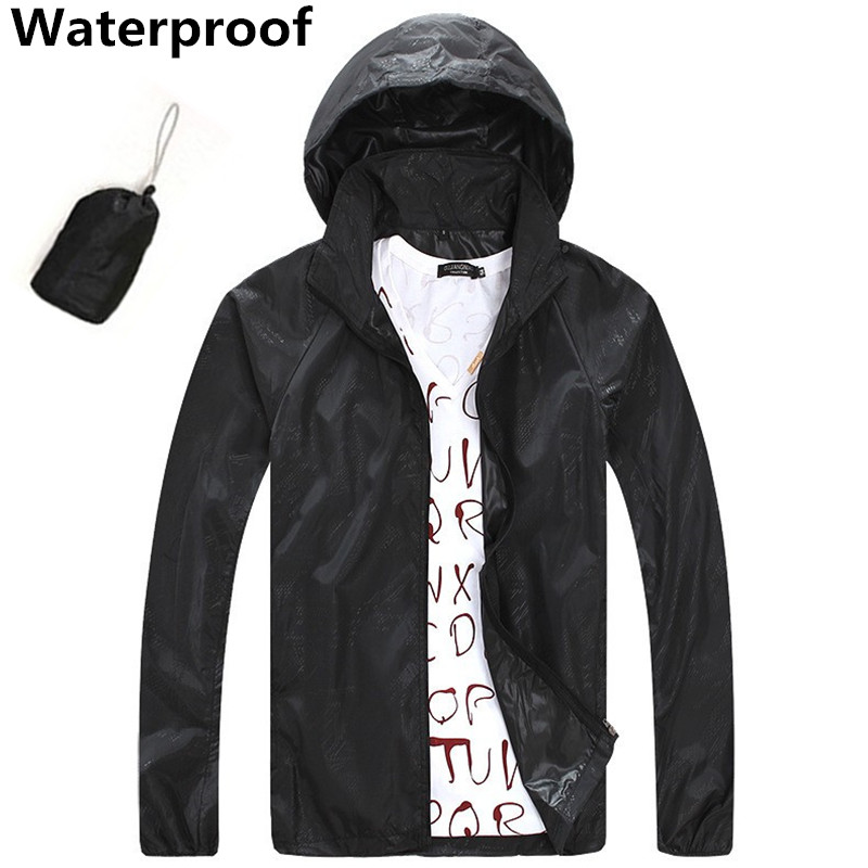 Saenshing outdoor jacket unisex windproof waterproof for Fishing rain gear reviews