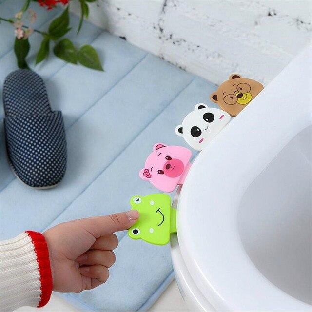 Arsmundi Cartoon Cover Lifter Toilet Seat Handle Bathroom Lid ...