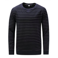 Fredd Marshall New Men Striped Long Sleeve T Shirt 2017 Autumn And Winter O Neck Cotton
