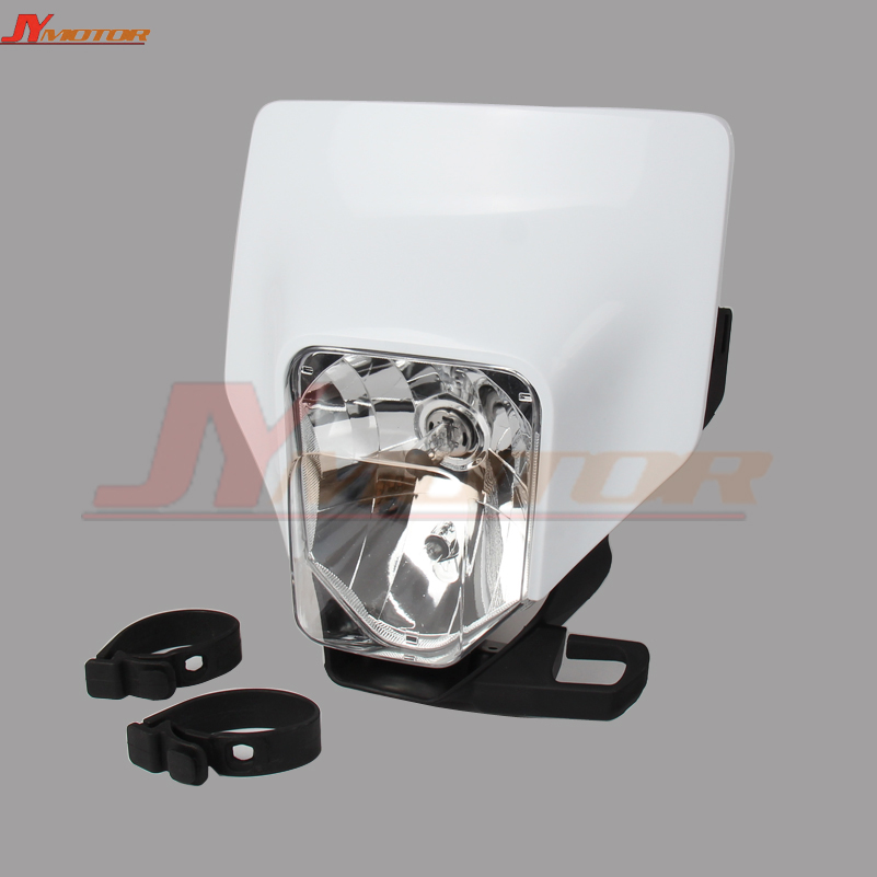 New 2018 Headlight Headlamp Head Light Lamp Supermoto Fairing For KTM HUSQVARNA Universal Off road Dirt bike