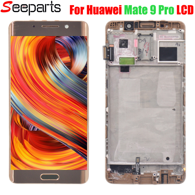 For 5.5 FHD Huawei Mate 9 Pro Mate9 Pro LCD Display Touch Screen Digitizer With Frame Replacement  Mate 9 Pro LCD Display      For 5.5 FHD Huawei Mate 9 Pro Mate9 Pro LCD Display Touch Screen Digitizer With Frame Replacement  Mate 9 Pro LCD Display