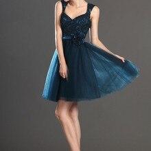 Новое поступление, кружевное коктейльное платье с коротким рукавом и v-образным вырезом