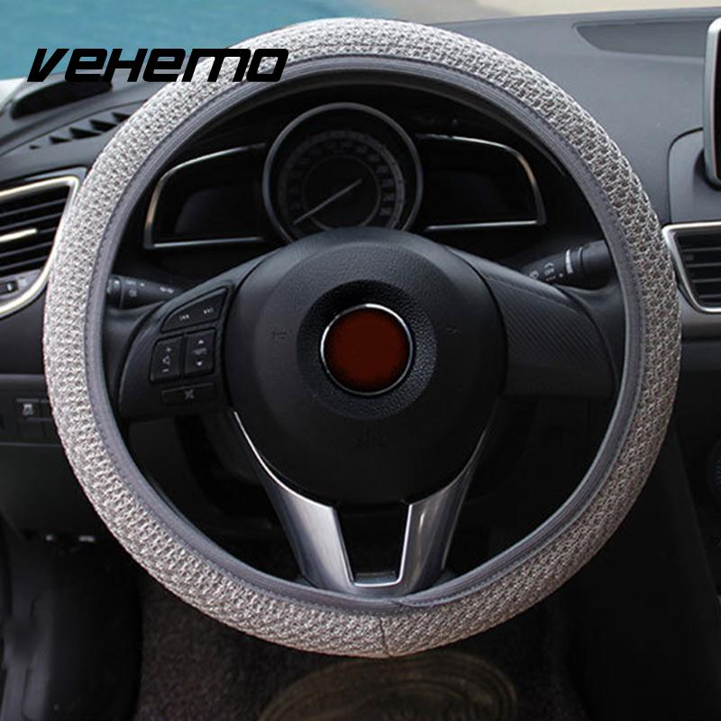 Hot Sale Steering Wheel Cover Auto Interior Cubre Volante Skidproof Car Cover Accessories Funda Volante Universal