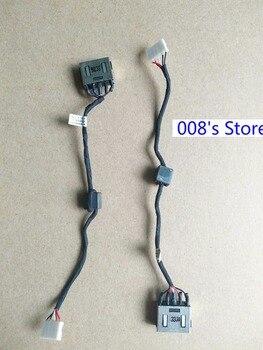 Nova Tomada de Energia Para Lenovo G50 G50-30 G50-40 G50-45 G50-70 G50-80 Z50-70 Z40-45 Z50-45 DC-IN Cabo Tomada de Carregamento do Conector