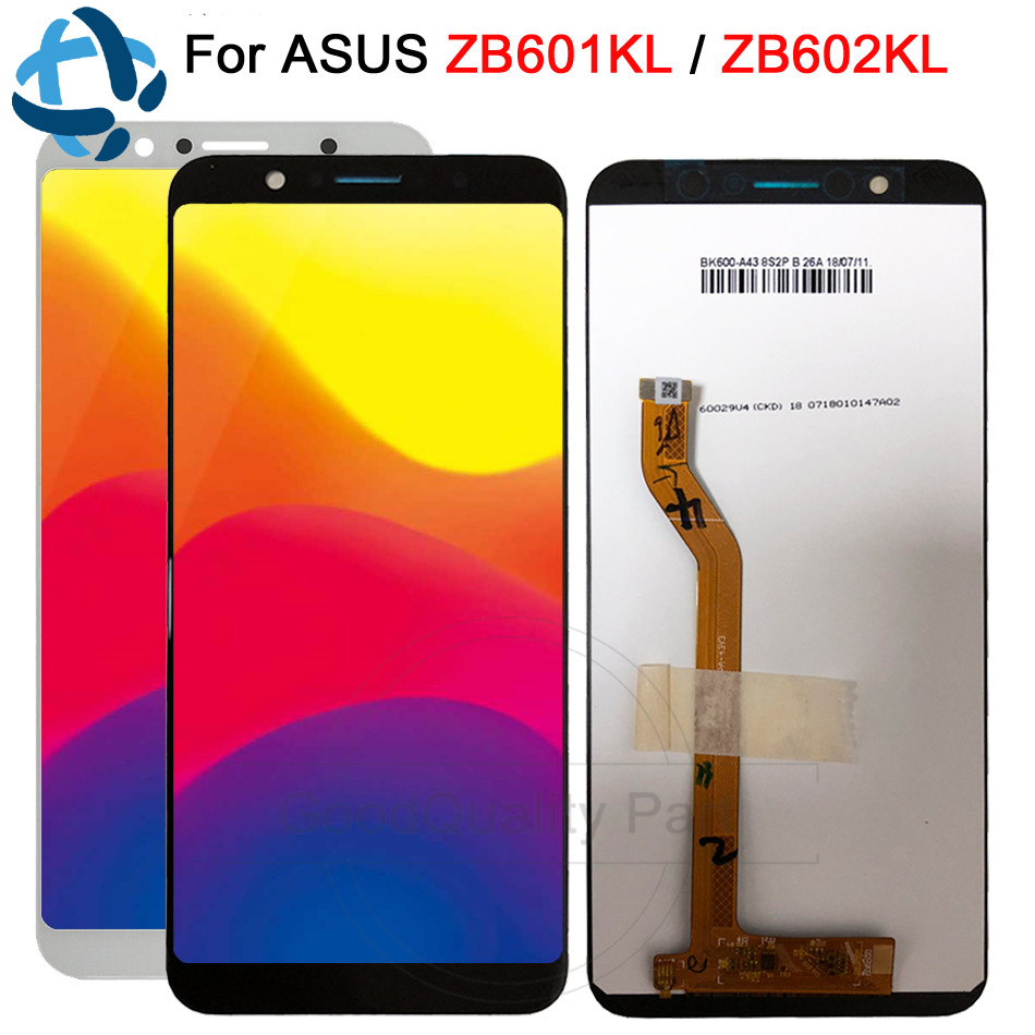 6.0New LCD Display For Asus ZenFone Max Pro ( M1 ) ZB602KL ZB601KL LCD Touch panel glass Screen Digitizer assembly replacement6.0New LCD Display For Asus ZenFone Max Pro ( M1 ) ZB602KL ZB601KL LCD Touch panel glass Screen Digitizer assembly replacement