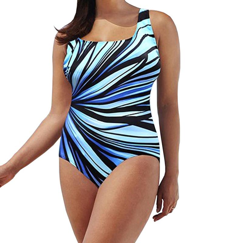 One-Piece Bikini Swimsuit Sexy High Cut Bathing Suit Straps Weave Biquini Push Up Swimwear Plus Size