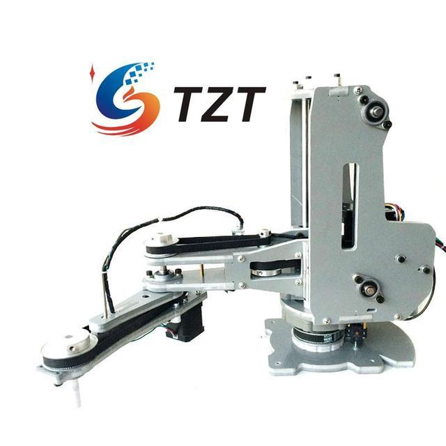 Assembled SCARA Mechanical Arm Hand Robot Manipulator 4 Axis Stepper Motor for Arduino