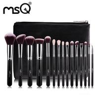 New Arrival MSQ 15pcs Makeup Brush Rose Gold Make Up Brushes High Quality Make Up Brush