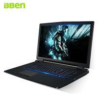 Bben ноутбук Windows 10 Intel i7 6700 К NVIDIA GTX970 16 ГБ ОЗУ 256 г SSD 1 т HDD убийца беспроводной-AC клавиатура с подсветкой игровой компьютер