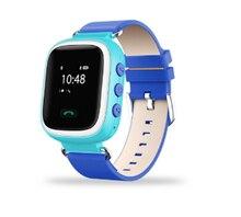 Kinder Smartphone Kinder kid Armbanduhr GSM GPRS GPS Locator Tracker Anti-verlorene Smartwatch Kind Schutz für IOS Android