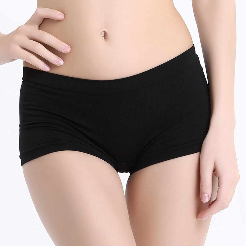 205e25f1e86a 1PC Women Panties Nylon Underpants Sexy Lady Boxers Boy Shorts New Women  Underpants Breathable Summer Spring